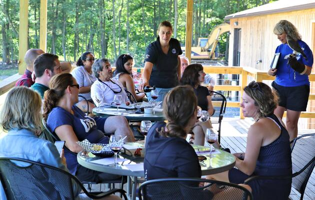 Paddling Along the Winery Trail: Buttonwood Grove Winery