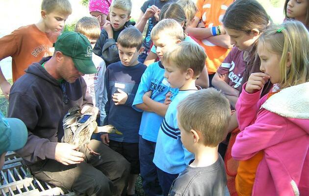 Montezuma Audubon Center School Field Trips