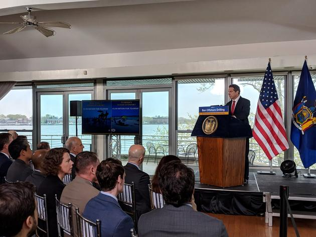Governor Cuomo Advances 'Save Our Waters' Bill To Prohibit Offshore Drilling Infrastructure In New York Waters