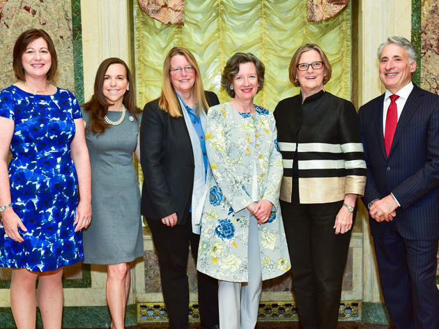 Audubon's 13th Annual Women In Conservation Luncheon Honoring Dominique Browning, Rebecca Moore And Dr. Kathryn D. Sullivan With 2016 Rachel Carson Award