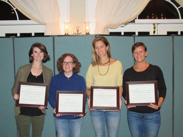 Audubon New York Honors Exceptional Members of Staff with Conservationist of the Year Award