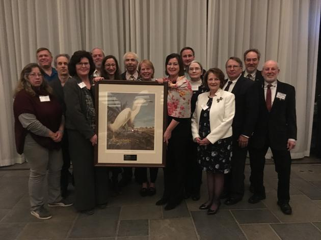 Attorney General Schneiderman Honored with Audubon New York's  William Hoyt Environmental Excellence Award