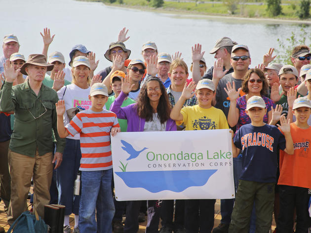 Photo Gallery: Onondaga Lake Conservation Corps