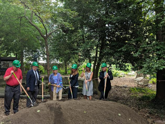 Celebrating the Groundbreaking of Renovations at the Theodore Roosevelt Sanctuary and Audubon Center